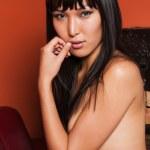 Mongol woman — Stock Photo
