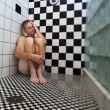 Man in shower. — Stock Photo #5750533